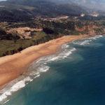 Playa cerca de casas rurales