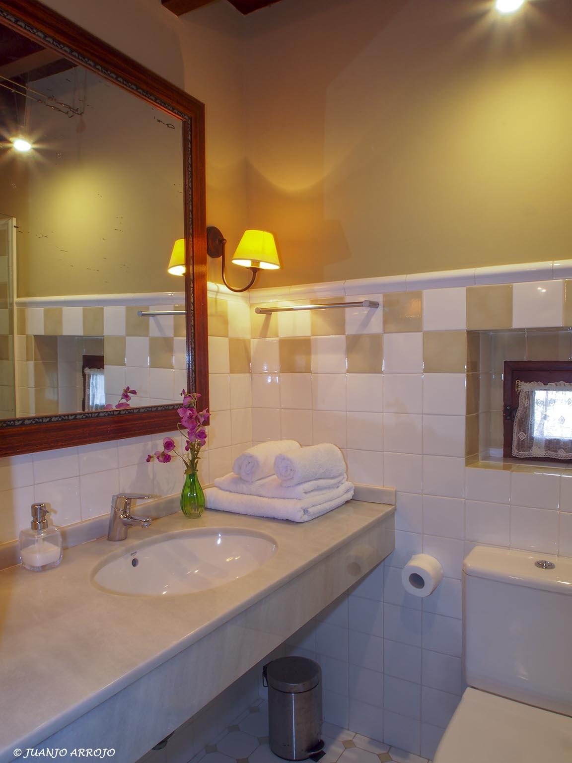 Baño casa rural Azul | casa rural Asturias