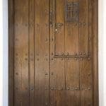 Puerta entrada casa rural Tia Elisa | casas rurales con encanto en asturias