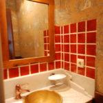 Baño casa Azul | casa rural en asturias