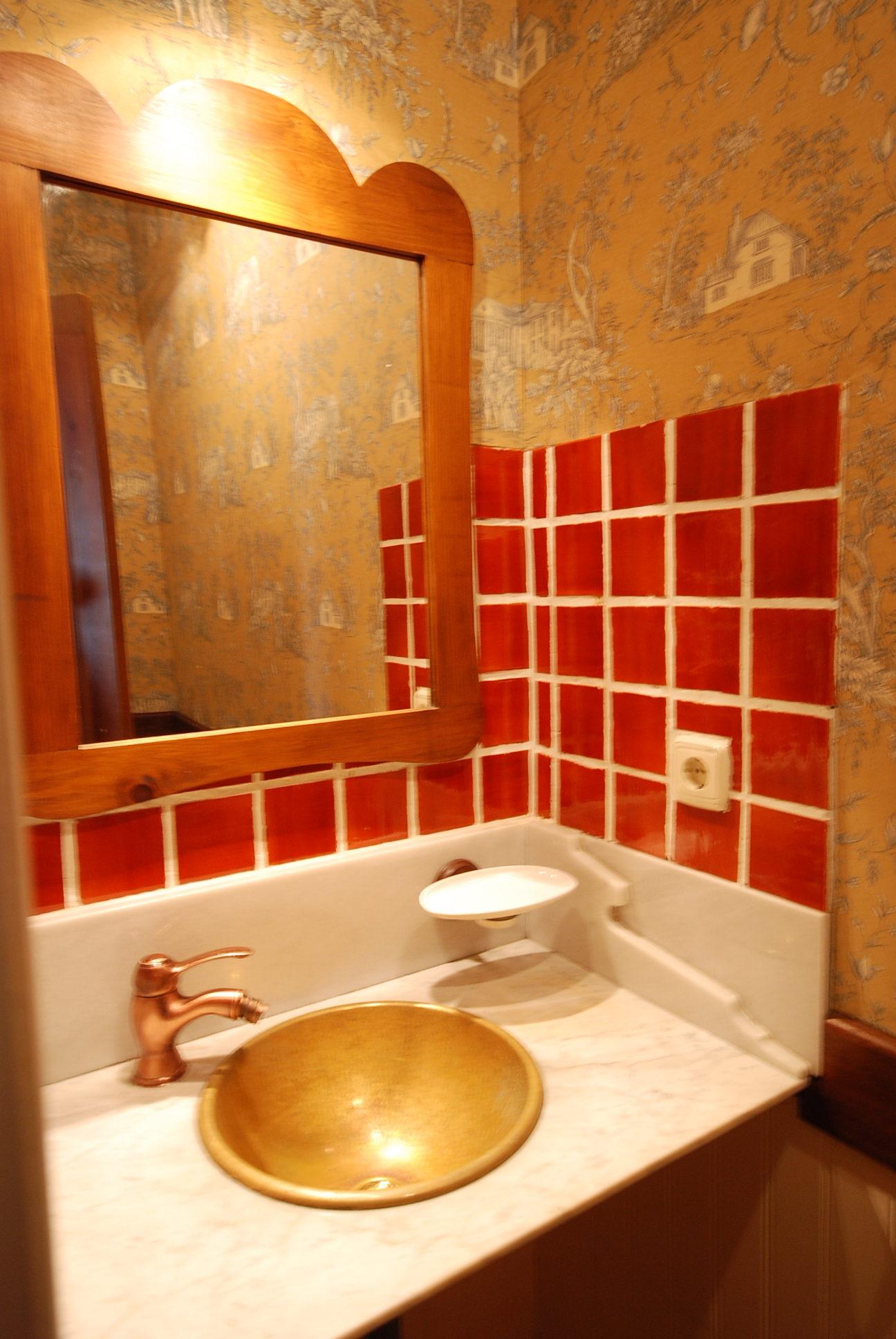 Baño casa Azul   casa rural en asturias