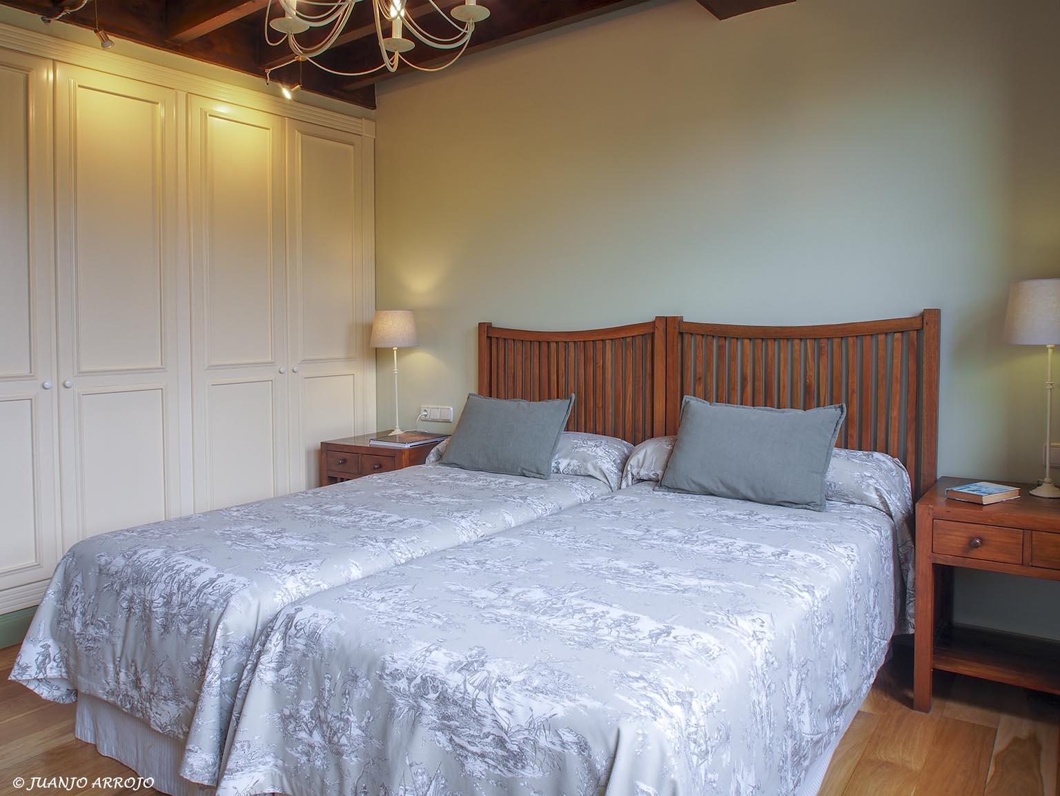 Dormitorio Casa Rural Azul | casa rural Asturias