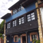 Porche casa rural Azul | casa rural Asturias
