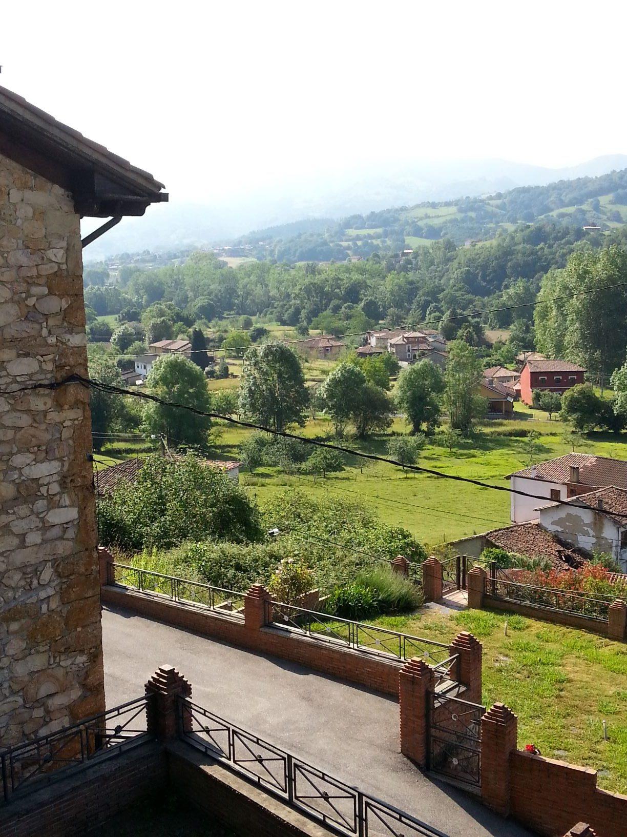 Vistas desde casa Alpina | casas con encanto Asturias